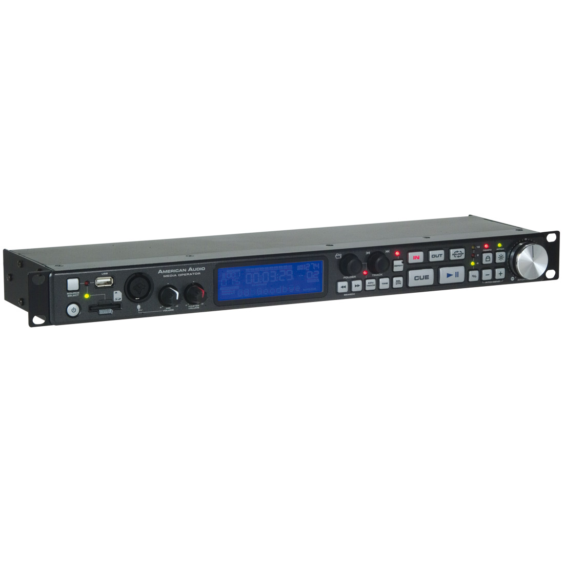 Media Operator - 1U rackmount SD/USB pla