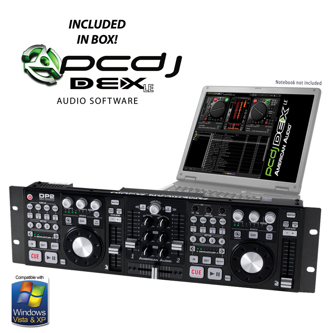 DP 2 USB controller + PCDJ Software
