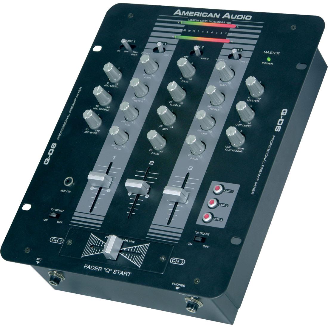 Q-D6 mixer black