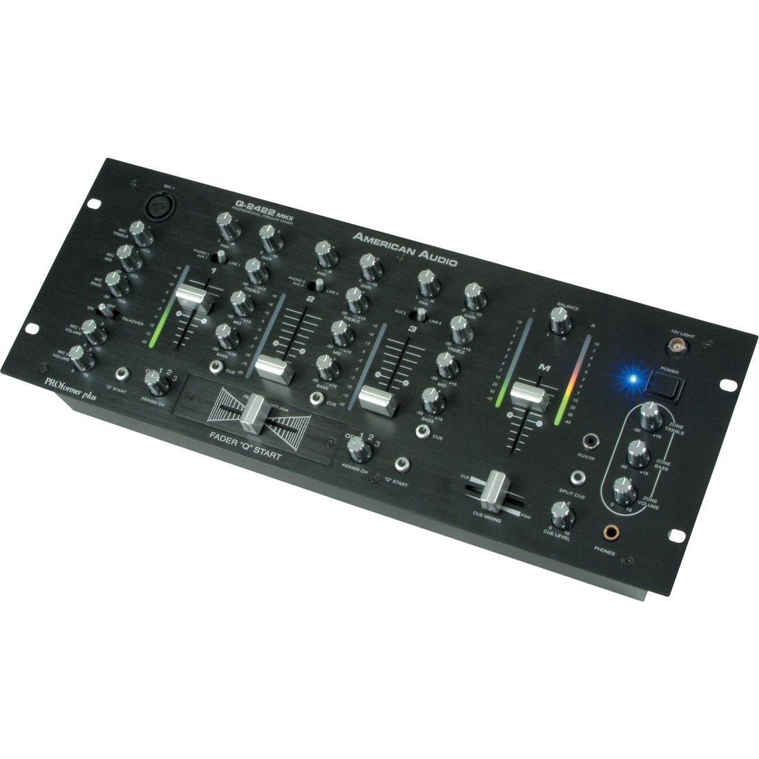 """Q-2422 MKII Mixer 19"""""""
