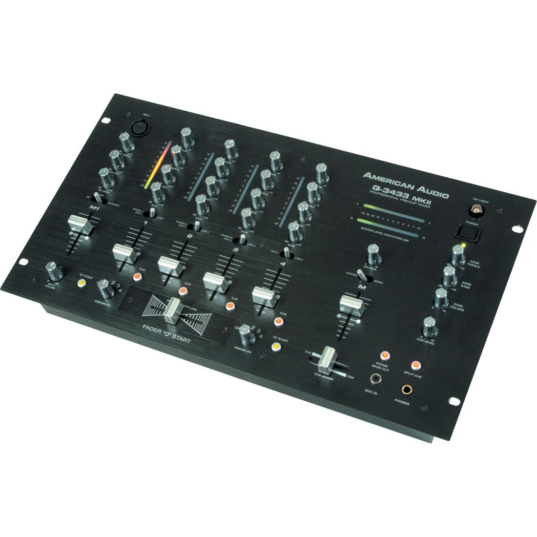 """Q-3433 MKII Mixer 19"""""""