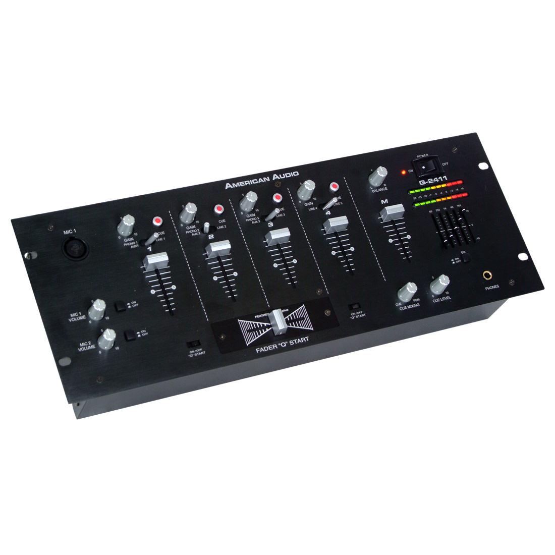 """Q-2411 black - 19"""" Mixer"""
