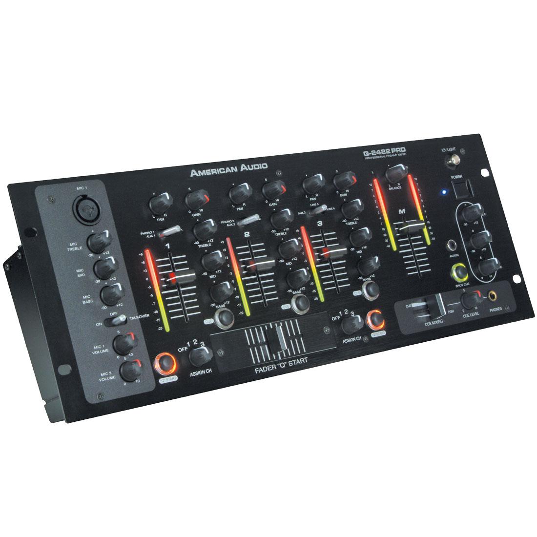 Q-2422 PRO  mixer