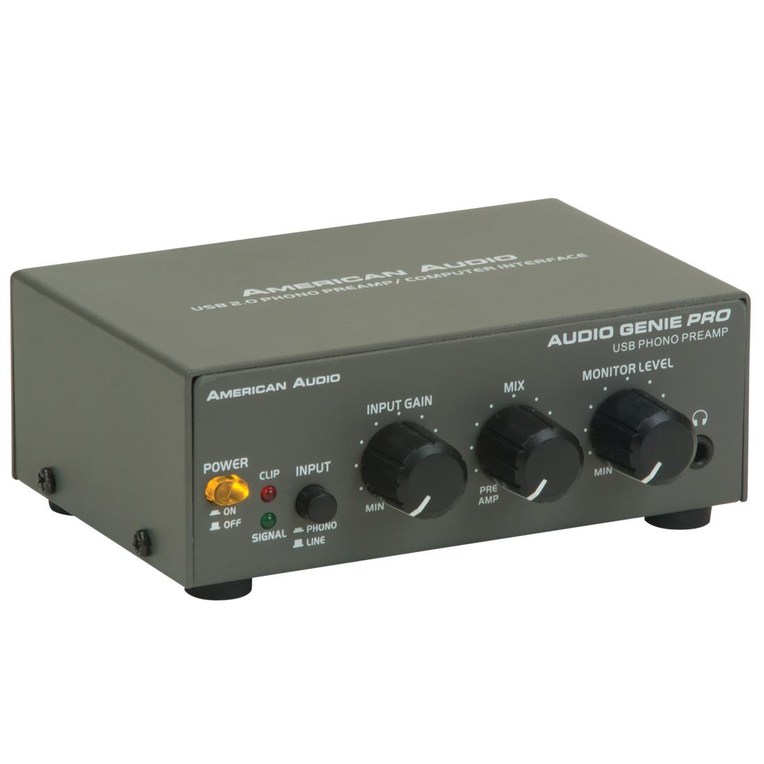 Audio Genie PRO - USB Audio interface/pr