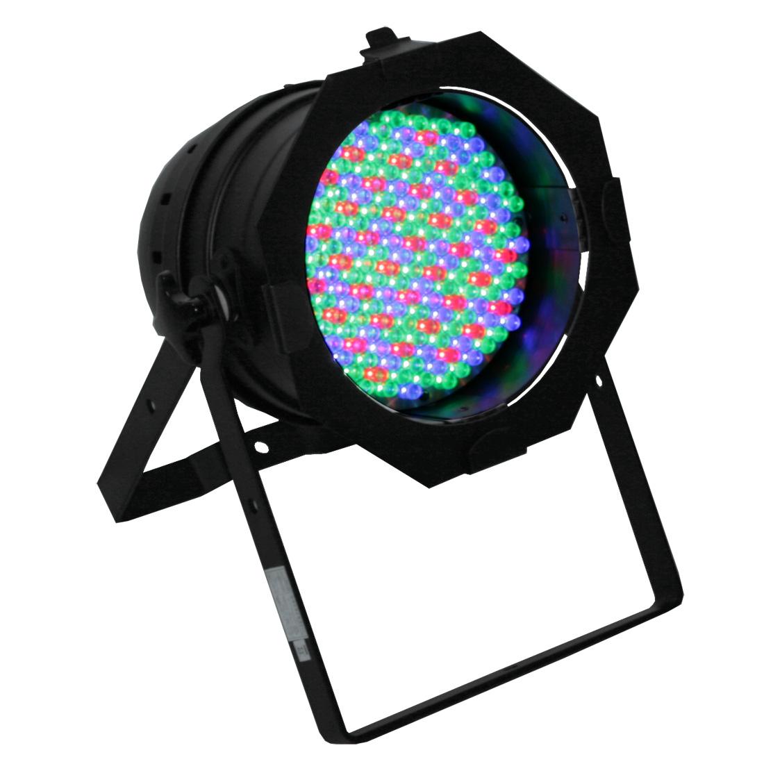 LED PAR 64 PRO 1/4W black