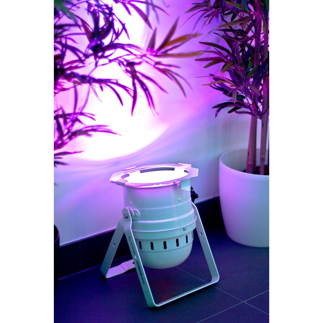 LED PAR 64 PRO 1/4W white