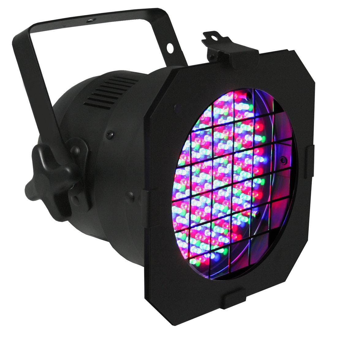 LED Par 56 plus short black